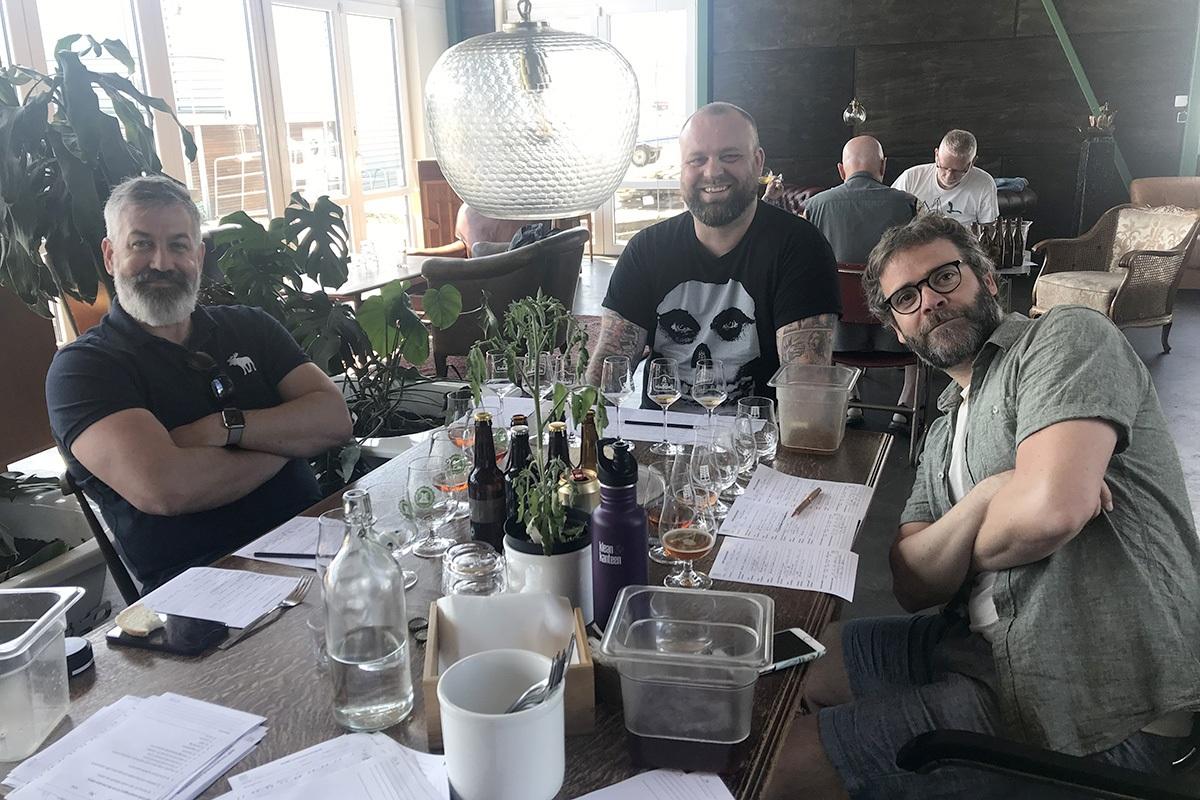 Jens Christensson, Tobias Janius och Peter M Eronson.