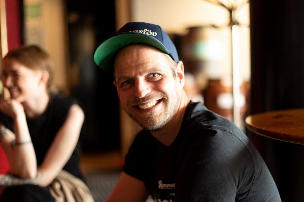 Glenn Pålsson på Remmarlöv hann inte medverka på collaben men till den gemensamma taptakeovern hann han.